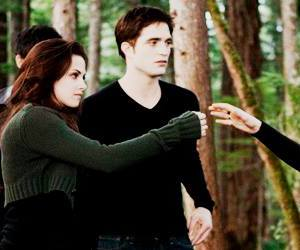 bella swan, robert pattinson, and stephenie meyer image