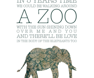 quote, elephant, and sun image