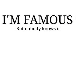famous and nobody image
