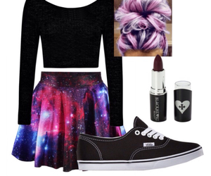 galaxy, outfit, and outfits image