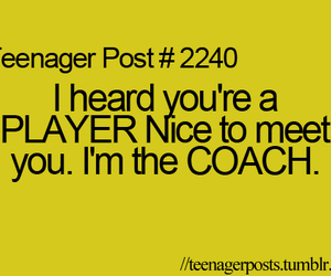 coach, true, and funny image