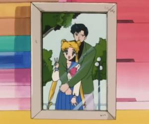 sailor moon, anime, and tuxedo mask image