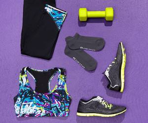colorful, fashion, and fitness image