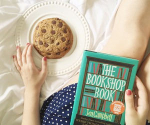 book and cookie image