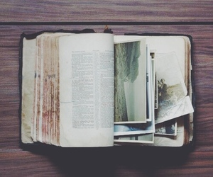 book, vintage, and photo image