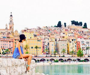 france, French Riviera, and italy image