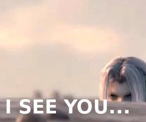final fantasy VII, Sephiroth, and funny image