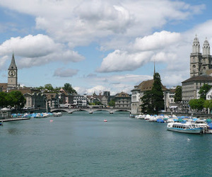 switzerland, travel, and zurich image