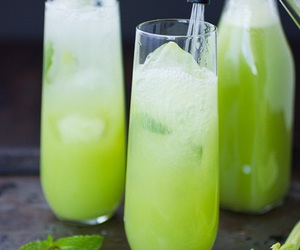 juice, peppermint, and cerely image