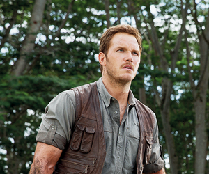 jurassic world and chris pratt image