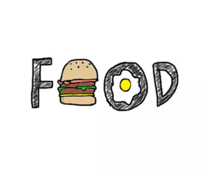 food, overlay, and egg image