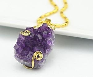 amethyst, crystal, and gem image