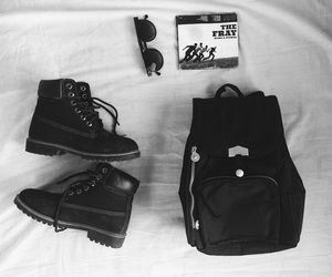 backpack, boots, and the fray image