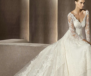 Dream, wedding, and wedding dress image