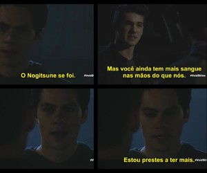 teen wolf, stiles stillinski, and theo renklin image