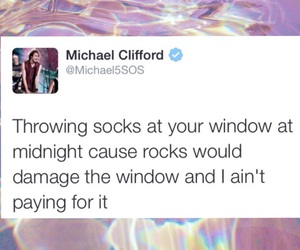 michael clifford and 5sos image