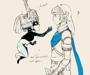 link, Legend of Zelda, and twilight princess image