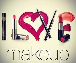 makeup, love, and make up image