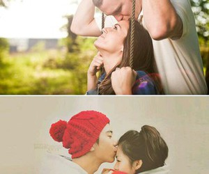adorable, beautiful, and couple image