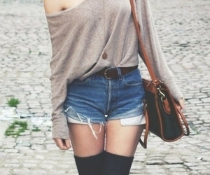 beige, jersey, and shorts image
