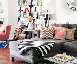 living room, beautiful, and home image