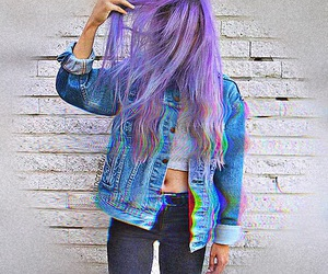 grunge, 3d, and hair image