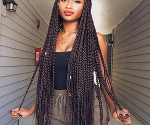 braids and hair image
