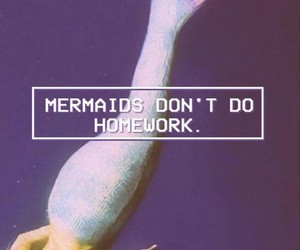 mermaid and wallpaper image