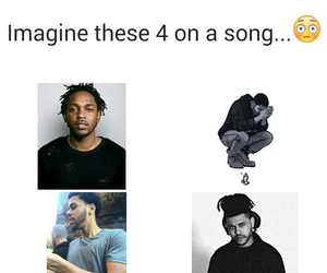 Drake, kendrick lamar, and the weeknd image