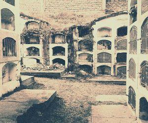 cementery, viejo, and dark image