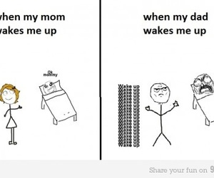 funny, lol, and wake up image