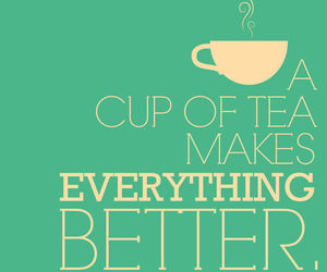 tea, quotes, and better image