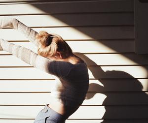 girl, photography, and shadow image