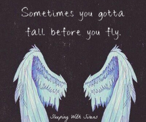 fly, quote, and text image
