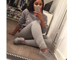 style, adidas, and grey image