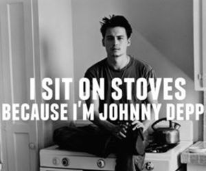 johnny depp, funny, and quote image