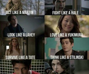 teen wolf, hale, and mccall image