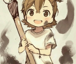 anime, barakamon, and naru image