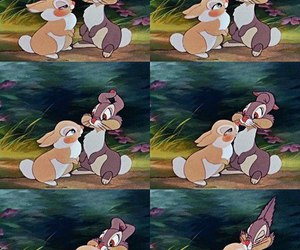 bunny, love, and bambi image