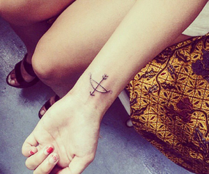arrow, lovely, and tattoo image