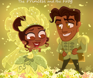 disney, princess, and the Princess and the frog image