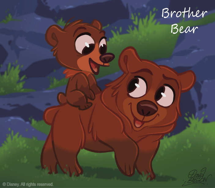 50 Chibis Disney Brother Bear By Princekido