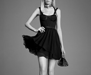dress, Versace, and model image