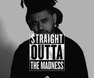 abelxo, b&w, and the weeknd image