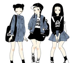 anime, kawaii, and art image