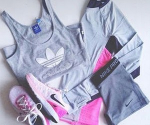 outfit and workout image