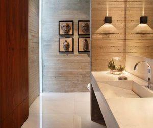 bathroom, ideias, and wood image