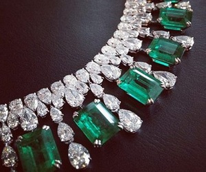 luxury, diamond, and green image