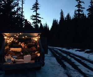 travel, snow, and adventure image