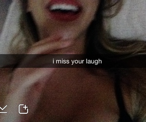 laugh, snapchat, and smile image